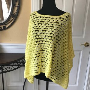 Chic knitted Rectangular Poncho